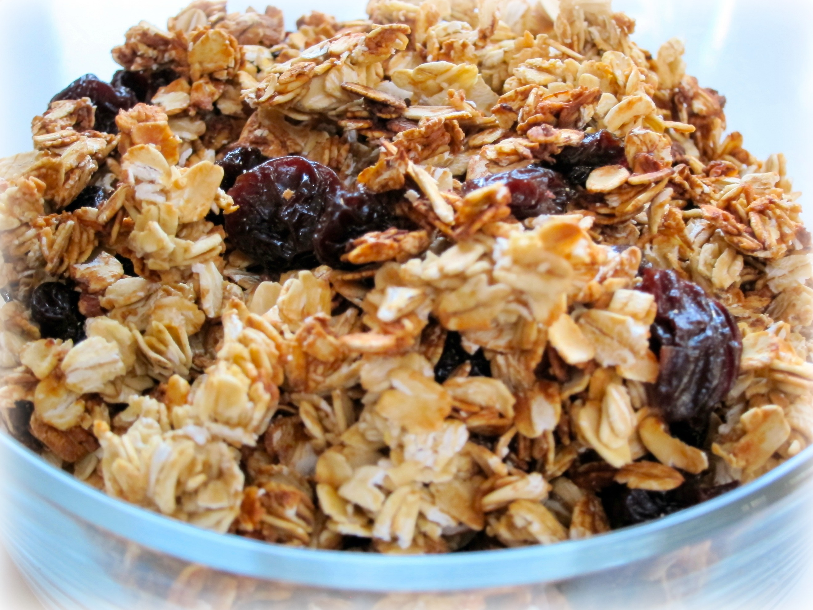Cherry Almond Chia Granola Recipe — Dishmaps